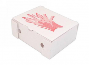'100 pezzi CODECART Contenitore ''for food'' take away vegetale 14x23x7,5 Soluzioni salvaspazio'