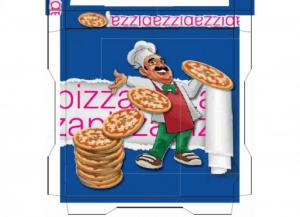 100 pezzi CODECART Box pizza semichimico pesante 31x31x3 Cucina: stoviglie e accessori
