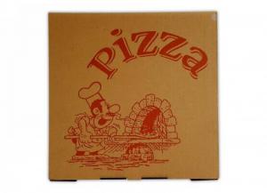 '100 pezzi CODECART Box pizza ''eco'' interno bianco 32,5x32,5x3 Cucina: stoviglie e accessori'