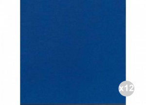 Set 12x60 (720 pz totali) DUNI Tovaglioli soft 40x40 blu scuro Cucina: stoviglie e accessori