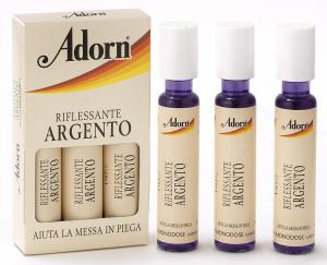 ADORN Fiale Argento X 3 Pezzi  - Fiale Per Capelli