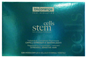 BLU ORANGE Cells stem fiale rigenerante *10 pz. - articoli per capelli