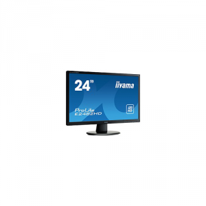 IIYAMA Monitor Led 24 Pollici 24 1920X1080 250Cd M? Speakers Vga Dvi 5Ms Informatica