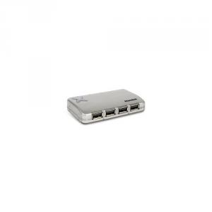HAMLET Networking Hub Usb Usb 4 Porte +Alimentatore Informatica Elettronica