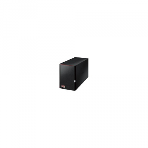 BUFFALO Nas Tower 2 Baie Linkstation 520 2Tb High Speed 2X1Tb 1Xgigabite Informatica