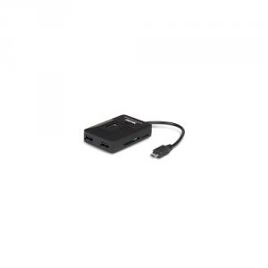 HAMLET Cavo Adattatore Card Reader Otg Micro Usb + Hub 3 Porte Informatica