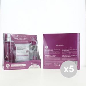 Set 5 FLOR DE MAYO Packviso - Rosa- Acqua Micellare Struccanti in vendita online