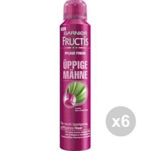 Set 6 FRUCTIS Style 200 Lacca Chioma Fluente Lacche E Spray Per Capelli