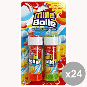 GLOBO Set 24 Bolle Sapone Con Gioco X2 Pezzi 35949 Giocattoli