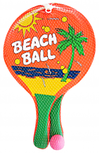 GLOBO Gioco racchette c/pallina 359074 - Giocattoli