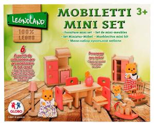 GLOBO Bambole Casa Mobili In Legno 37441 Giochi Per Bambini