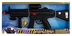 GLOBO Armi Mitra Nero Con Vibrazione 36196 Giochi Per Bambini