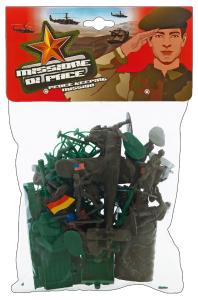 GLOBO Soldatini Con Accessori 37028 Giochi Per Bambini