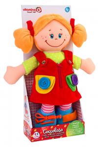 GLOBO Bambola stoffa 38 cm. - giocattoli