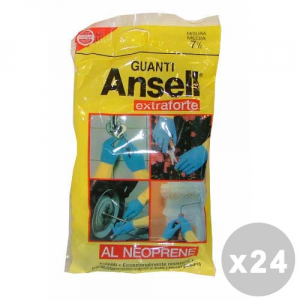ANSELL Set 24 ANSELL Guanti extraforti taglia M - guanti