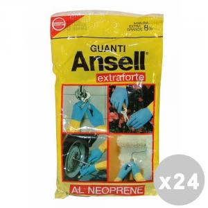 ANSELL Set 24 ANSELL Guanti extraforti taglia XL - guanti