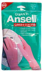ANSELL Guanti ROSA CASA&Cucina M Giardinaggio