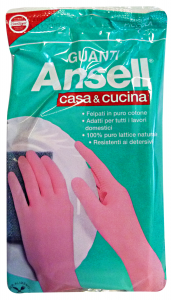ANSELL Guanti ROSA CASA&Cucina S Giardinaggio