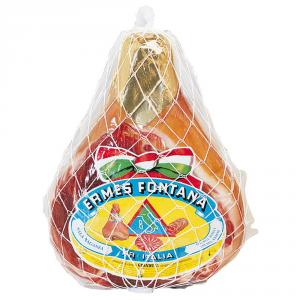 ERMES FONTANA Prosciutto crudo stagionato granduca taglio vivo 6,8/7,5 kg circa