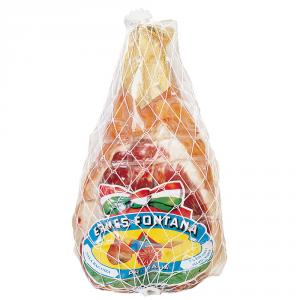 ERMES FONTANA Prosciutto crudo stagionato riviera dissosato, rotondo, taglio vivo 7,5/8,5 kg