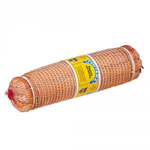 ERMES FONTANA Pancetta con cotenna stagionata dimezzata sotto vuoto, peso 2/3 kg