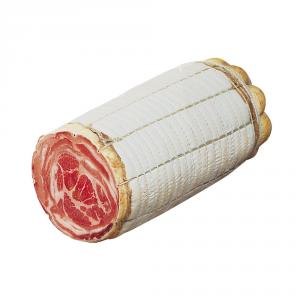 ERMES FONTANA Pancetta coppata dimezzata peso 2/3 kg circa