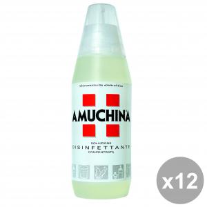 Set 12 AMUCHINA 500 Ml. Soluzione Disinfettante Disinfettanti e igienizzanti