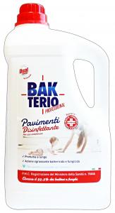 BAKTERIO Detergente Disinfettante 5 KG. Disinfettanti e igienizzanti