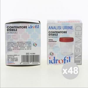 Set 48 IDROFIL Contenitore sterile monouso per analisi Urine Salute in vendita online
