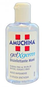 AMUCHINA Gel Igienizzante Mani X-GERM 80 Ml. Disinfettanti e igienizzanti