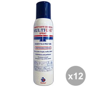 Set 12 GERMOCID Disinfettante Multiuso Spray 150 Ml.  Disinfettanti e igienizzanti