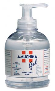 AMUCHINA Gel Igienizzante Mani Dispenser 250 Ml. Disinfettanti e igienizzanti