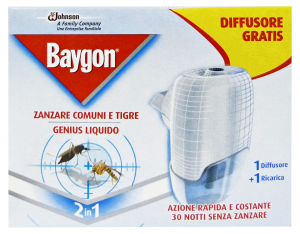 BAYGON Genius fornello base - Insetticidi e repellenti