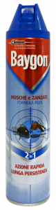 BAYGON Mosche/zanz.spray 400 ml. - Insetticidi e repellenti