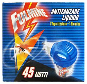 FULMINE Zanzare liquido base 45 notti - insetticidi e repellenti