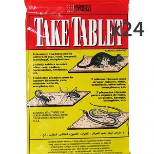 Set 24 COPYR Topicida Tavolette 20x30 Cm. Articoli per insetti