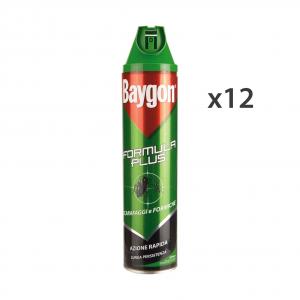Set 12 BAYGON Scarafaggi-Formiche Spray 400 Ml.  Articoli per insetti