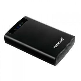 INTENSO 6025530 Hdd 500Gb Black Move Wi-Fi Hard Disk Esterno Memorie