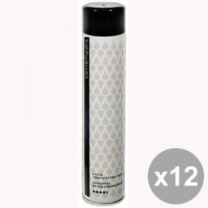 Set 12 CONTEMPORA Lacca Extra Forte 500 Ml. Prodotti per capelli