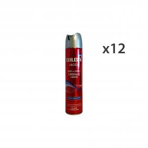 Set 12 BILBA Lacca LINO-CRIstantaneo Liquido Extra Forte 250 Ml. Prodotti per capelli