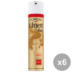 Set 6 ELNETT Lacca Normale 250+150 Ml. Prodotti per capelli