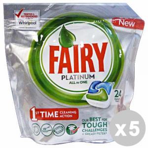 FAIRY Set 5 FAIRY Caps lavastoviglie 24 platinum original