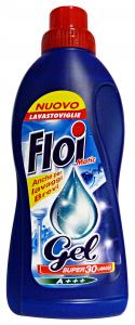 FLOI Gel Lavastoviglie 750 Ml. 30 Lavaggi Detergenti Casa
