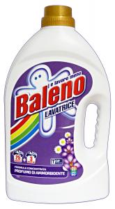 BALENO Lavatrice Liquido 25+3 Mis. Con Ammorbidente Detergenti Casa