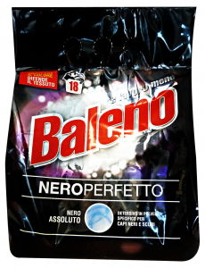 BALENO Lavatrice Polvere 18 Mis. Nero Perfetto Detergenti Casa