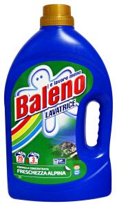 BALENO Lavatrice Liquido 25+3 Mis. ALPINA Detergenti Casa