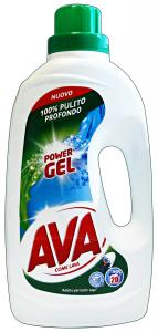 AVA Lavatrice Liquido 20 Mis. POWER Gel 1,3 Lt. Detergenti Casa