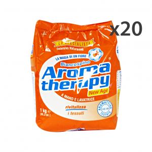 Set 20 BIANCOSPINO Lavatrice 1 KG.AROMA THERAPY Detergenti casa