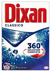 DIXAN Lavatrice Polvere 25 Mis. Classico Detergenti Casa
