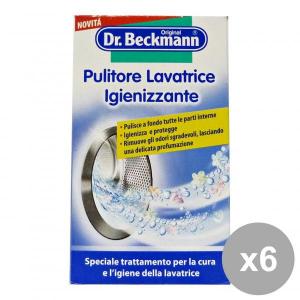 Set 6 DR. BECKMANN Pulitore Lavatrice Igienizzante 250g Detergenti casa